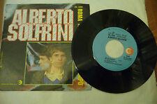 """ALBERTO SOLFRINI""""ROMA NON HA PAURA DEL LUPO-disco 45 giri RICORDI It 1982"""""""
