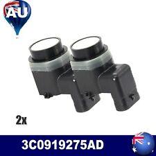 2 x PDC Parking Sensors For VW Golf Passat Front Rear New Black 3C0919275AD