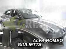 Alfa Romeo 159 4 porte berline 2005-2011 4tlg saute vent HEKO Déflecteurs