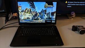 P370EM HD8970M 16GB RAM CROSSFIREX EUROCOM GAMING CAD LAPTOP