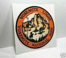 Yosemite National Park Lodge Vintage Style Travel Decal / Vinyl Sticker, Label