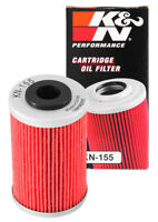 KN-155 K&N OIL FILTER; POWERSPORTS (KN Powersports Oil Filters)