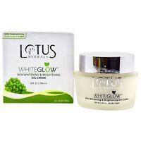 Lotus Herbals Whiteglow Skin Whitening & Brightening Gel Cream SPF-25,60g/2.11Oz