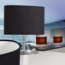 Lampe de table Lampe de chevet Lampe de salon Lampe de lecture Tissu noir 143963