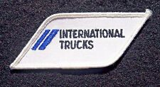 "INTERNATIONAL TRUCKS EMBROIDERED SEW ON PATCH NAVISTAR ADVERTISING 3"" x 1 1/2"""