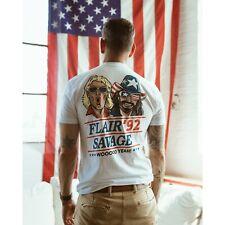 Election 2020 Macho Man Randy Savage Ric Flair Woooo Yeah Mens T-shirt Large WWE