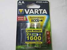 6x AA 2100mah Batteria al Nichel-idruro hr6 VARTA ar2641