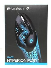 Logitech G402 Hyperion Fury Ultra Fast FPS Gaming Mouse 910-004070