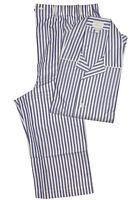 Brioni Men's Blue 100% Cotton Striped Pajamas (XXL)