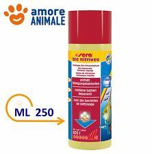 Sera Bio Nitrivec - 250 ml - Biocondizionatore Pulizia Batteri per Acquario