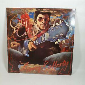 "Gerry Rafferty City To City Vinyl 12"" Record 1978 EMI Records EX/VG+"