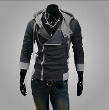 Men Fashion Creed Cool Slim Jacket Costume Hoodie Coat Cosplay For Assassins