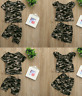 New Infant Kids Baby Boys Girl Camouflage T shirt Tops+Shorts Outfit Clothes Set