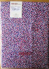 KENZO MAISON SINGLE Fitted Sheet BLUEBAY OUTREME 90x200cm NEW