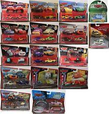 #08 Cars Disney Pixar Car - Scale 1/55-Aussuchen : 2-Pack/1-Pack