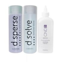 CND D Sperse - D Solve 250ml - Cuticle Away - Cleanser - Remover