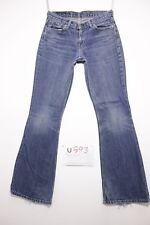 Levis 544 flare bootcut boyfriends jeans usato (Cod.U593) Tg.43 W29 L34 donna