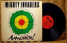 Roots Reggae LP :  THE MIGHTY INVADERS INVASION  RAVE RECORDS RAV 3001 1983