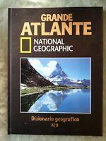 LIBRO BOOK NATIONAL GEOGRAPHIC GRANDE ATLANTE VOL 14 DIZIONARIO GEOGRAFICO GAT2