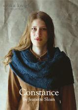 Erika Knight Ladies Cowl Knitting Pattern Constance In DK (British Blue 100)