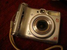 Canon PowerShot A540 Silver 6.0MP Digital Camera