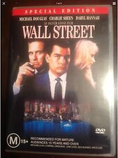 WALL STREET Michael Douglas Charlie Sheen New Unsealed DVD R4
