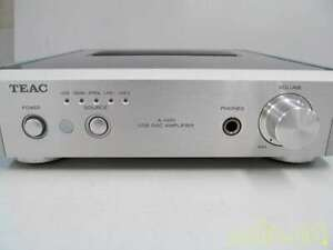 TEAC A-H01-S Reference 01 USB DAC Stereo Premain Amplifier Silver From Japan
