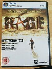 Rage: Anarchy Edition (Windows PC, 2012) *Free P&P*