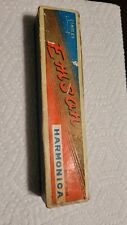 Vintage Emson 21 Hole Harmonica Used
