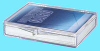 1 Ultra Pro 35 COUNT HINGED BOX STORAGE Trading Card Baseball protection
