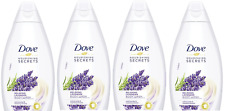 Dove Body Wash Lavender Shower Gel 15.9 Oz PACK OF 4