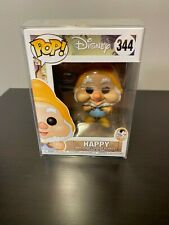 Funko Pop Happy #344 Disney Snow White Nib w/ Protector
