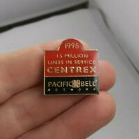 Vintage Pacific Bell Network 1 Million Lines Canada pin button pinback *EE94