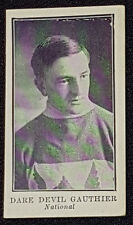 1912 - LACROSSE C61 - DARE DEVIL GAUTHIER #44 - NATIONAL - IMPERIAL TOBACCO CARD