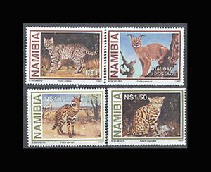 Namibia, Sc #825-28, MNH, 1997, Animals, Wild Cats, A5FHI-9