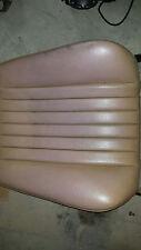 Mercedes W124 300D 300TE 300E tan MB Tex Seat skin horsehair pad saffron 86-89