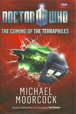 Michael Moorcock Dr Who The Coming of the Terraphiles 1st Fine/Fine signed