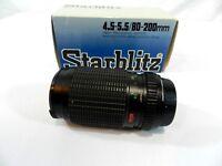 Starblitz Zoom Lens Series 1 Macro Focusing 80-200mm f/4.5 for Fujica X Camera
