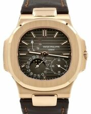 Patek Philippe Jumbo Nautilus 5712 18k Rose Gold Watch Box/Papers 5712R