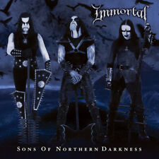 IMMORTAL - Sons Of Northern Darkness LP - Clear Blue Swirl Vinyl Album - ABBATH