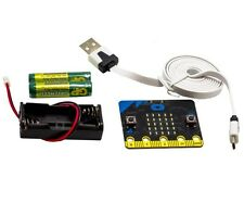 Genuine BBC Micro Bit Starter Kit Contains Microbit USB Cable Batteries & Holder