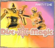 Disc-O-Magic - Partytime - CDM - 2001 - House 4TR