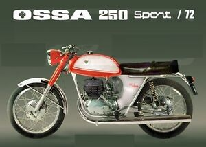 OSSA 250 SPORT SPEEDOMETER NEW OSSA 250 SPORT SPEEDOMETER OSSA WILDFIRE 250