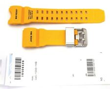 CASIO WATCH BAND: 10506520  BAND FOR GWG-1000-1A9 Yellow Resin Band