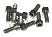 10-SS M6-1.0 X 16MM SH SOCKET ALLEN HEAD STAINLESS STEEL METRIC MACHINE SCREWS