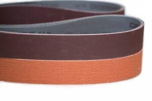 """2""""x72"""" Sanding Belts Variety Pack Knife Makers Starter Kit (8pcs)"""