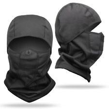 Waterproof Ski Face Mask Men Women Windproof Thermal Fleece Neck Warm Balaclava