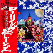 "ROLLING STONES ""Their Satanic Majesties Request"" 70's Japan Lp w/Obi BEATLES"