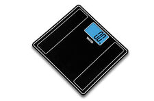 Tanita Hd-382 150kg Digital Glass Bathroom Scale Black