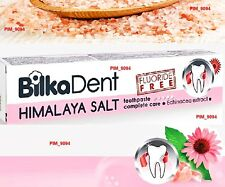 Bilka Dent HIMALAYA SALT Toothpaste Complete Care with Echinacea FLUORIDE FREE